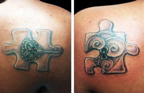 unique puzzle tattoos