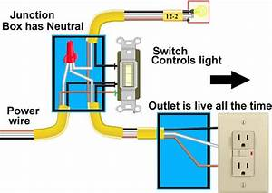 Basic Single Light Switch Wiring Diagram
