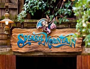 Splash Mountain Magic Kingdom