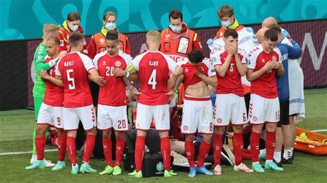Euro 2020: Christian Eriksen in video call with Denmark ...