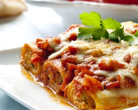 boulettes de viande sauce tomate cuisine italienne cannelloni bolognaise recette az