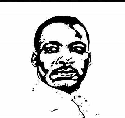 Luther Martin King Jr Mlk Clipart Drawing