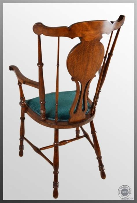 antique high back reading fireside chair country kitchen
