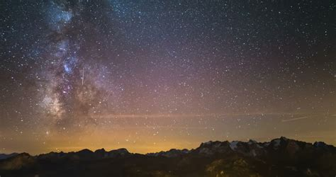 Panoramic The French Alps Image Free Stock Photo