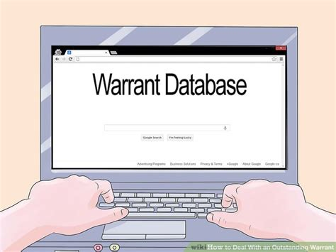 How To Deal With An Outstanding  Ee  Warrant Ee    Steps With