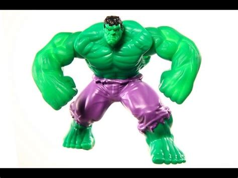 Incredible Hulk Toy For Children Youtube