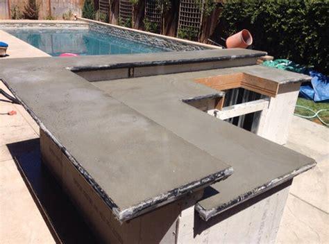 Where Can I Buy Quikrete Countertop Mix - concrete countertop backyard patio concrete kitchen counter