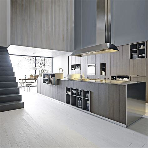 Contemporary Wood Kitchens, Contemporary Wood Kitchen