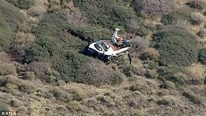 Three people SURVIVE Los Angeles helicopter crash | Daily ...