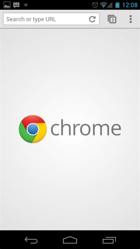 chrome android android finally receives chrome beta