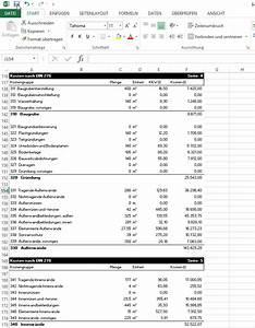 Baukosten Nach Gewerken : formulare kostenplanung din 276 bki ~ Lizthompson.info Haus und Dekorationen