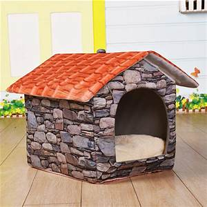 Amazing indoor dog house bed indoor dog house bed ideas for Indoor dog house ideas