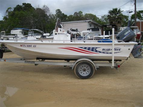 Used Blue Wave Boats Houston by 2007 Blue Wave 190 19 Foot Blue 2007 Motor Boat In