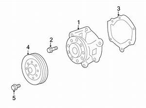 Buick Enclave Engine Water Pump  Liter  Twin  Cooling