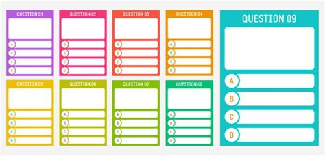 printable cards  creating  quiz miscellaneous