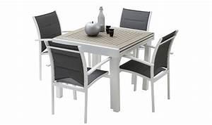 Table De Jardin 4 Personnes : table jardin 4 personnes ensemble de jardin pas cher objets decoration maison ~ Teatrodelosmanantiales.com Idées de Décoration