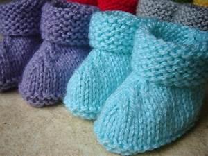 Modele De Tricotin Facile : modele chaussette facile au tricot ~ Melissatoandfro.com Idées de Décoration