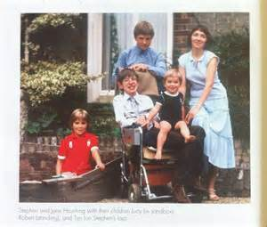 Stephen Hawking and His Family
