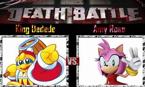 King Dedede vs Amy Rose by SonicPal on DeviantArt
