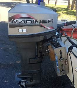 25 Hp Mariner Outboard Long Shaft For Sale Afa Marine  Inc