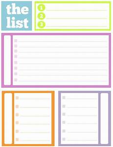 cool to do list template - no excuses 20 free printable to do lists brit co