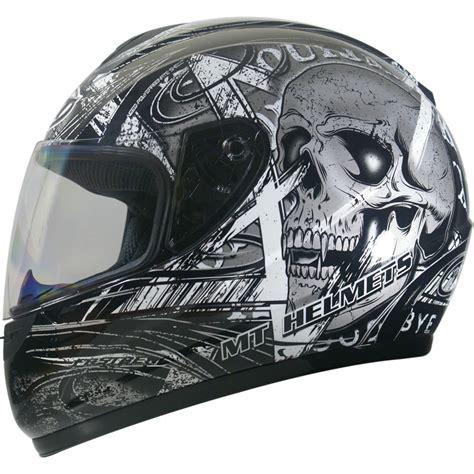 skull motocross helmet mt thunder skull polycarbonate motorcycle motorbike full