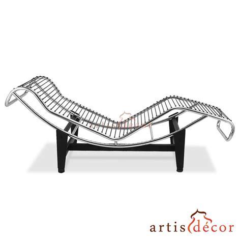 chaise lc4 le corbusier la chaise chair lc4 chaise lounge white