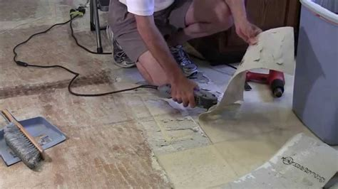 removal  armstrong linoleum  clean removal