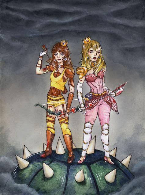 Princess Peach Art Blog — Ktaddisondraws Peach And Daisy Koopa Killers