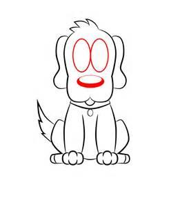How to Draw a Easy Dog Cartoon