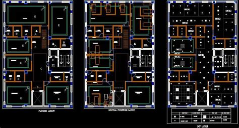 small hospital planning plan n design