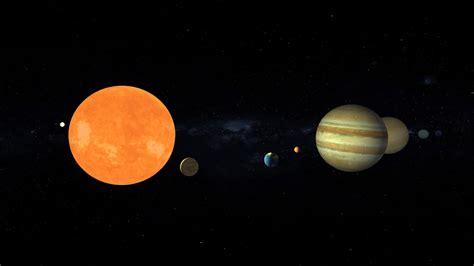 Scaled Solar System Model Animation Youtube