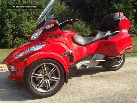 can am trike 2012 can am spyder rt se5 trike 3 wheeler touring motorcycle