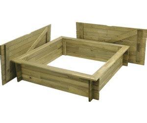 sandkasten aus holz mit abdeckung hornbach sandkasten aus holz mit deckel 120x120cm ab 59 00 preisvergleich bei idealo de