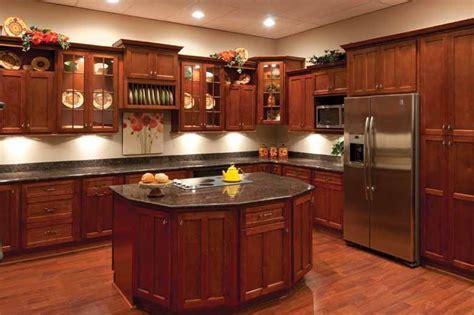 shaker cherry kitchen cabinets surplus warehouse