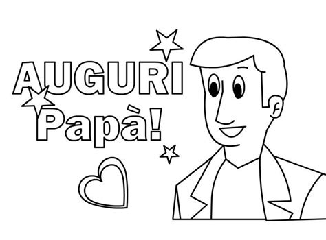 festa papa disegno mod bimbi  carta