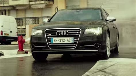 The Audi S8 Sedan Of Ed Skrein In The Transporter Legacy