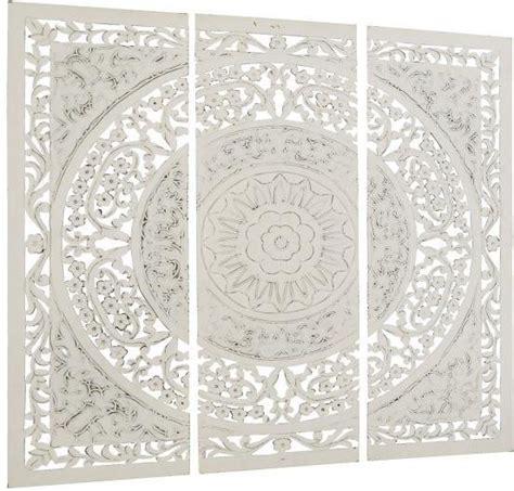 orientalische ornamente holz home affaire 3 teilges wandbild 187 ornamente 171 aus holz 122 122 cm kaufen otto