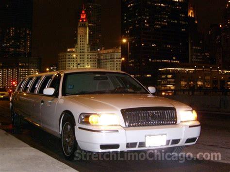Limousine Rental Chicago by 12 Passenger Mercury Grand Marquis Gs Stretch