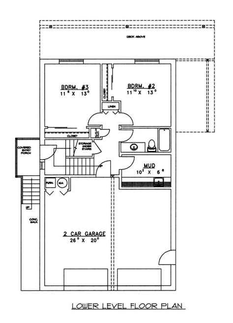 plot plans concrete block icf vacation home with 3 bdrms 2059 sq