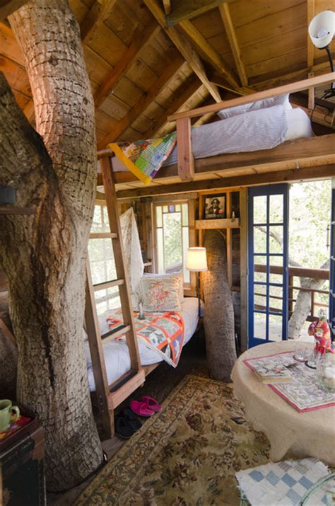 treehouse rustic bedroom san francisco  alex