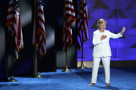hillary clinton voters plan  wear pantsuits  election