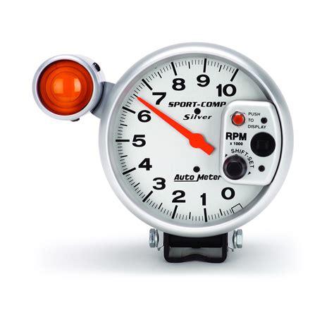 Sport Comp 5″ Tachometer, 0-10,000 Rpm, Ultra