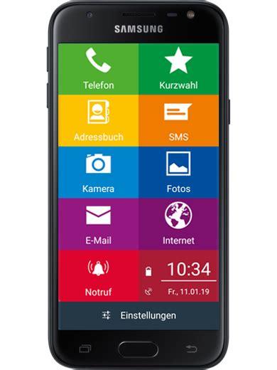 seniorenhandy einfachfon smartphone mit leichter bedienung