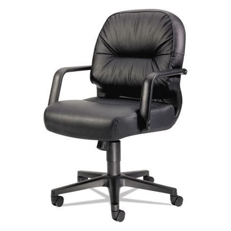 hon 174 2090 pillow soft series managerial leather mid back