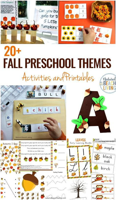 15 october preschool themes with lesson plans and 559 | october preschool themes activities pin