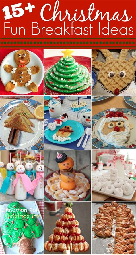 fun christmas breakfast ideas start  fun family holiday