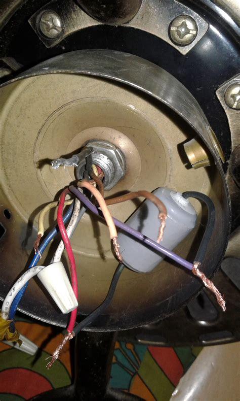 ventilador de techo glc52 4c4l conexion de cables capacitor ventiladores yoreparo