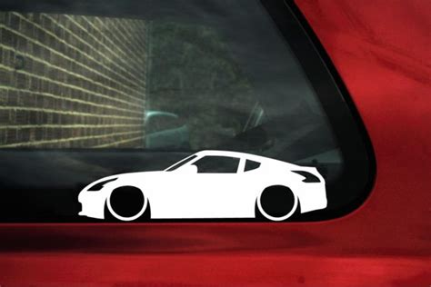 nissan  fairlady   outline stickers decals