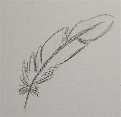plume d oiseau dessin comment dessiner une plume d oiseau iidees en 2019